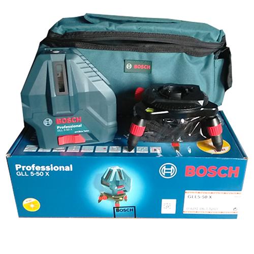 Máy cân mực 5 tia laser Bosch GLL 5-50x