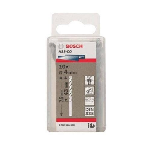 Mũi khoan INOX HSS-Co Bosch 2608585880 4mm