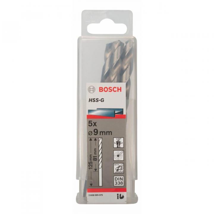 Mũi Khoan Kim Loại HSS-G Bosch 2608595075