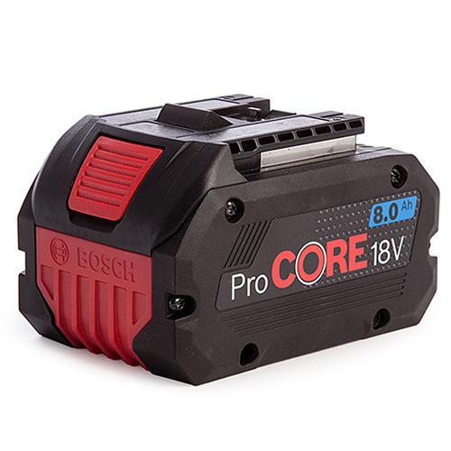Pin 18V Bosch 8.0Ah PROCORE MỚI 1600A016GK