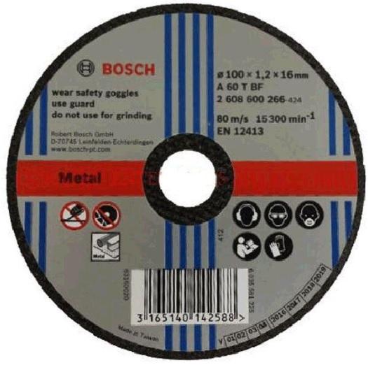 Đá cắt Bosch 2608600266