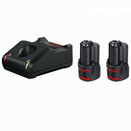 Bộ 2 Pin 2.0Ah + Sạc nhanh GAL 12V-40 1600A01B8W