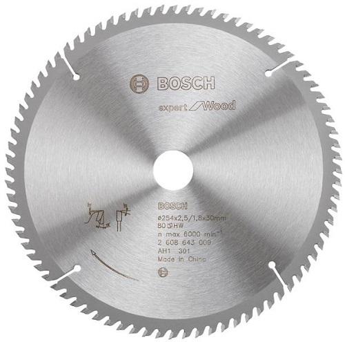 Lưỡi cưa gỗ Bosch 2608643001 254x25.4mm T40