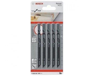 Bộ Lưỡi Cưa Gỗ 5 Cây Bosch T111C (2608630033)