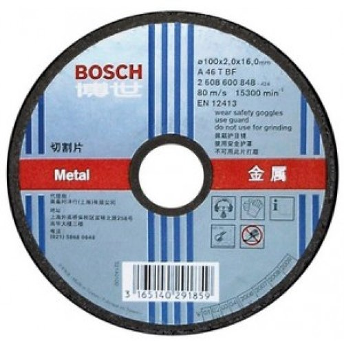 Đá cắt 100mm Bosch 2608600266
