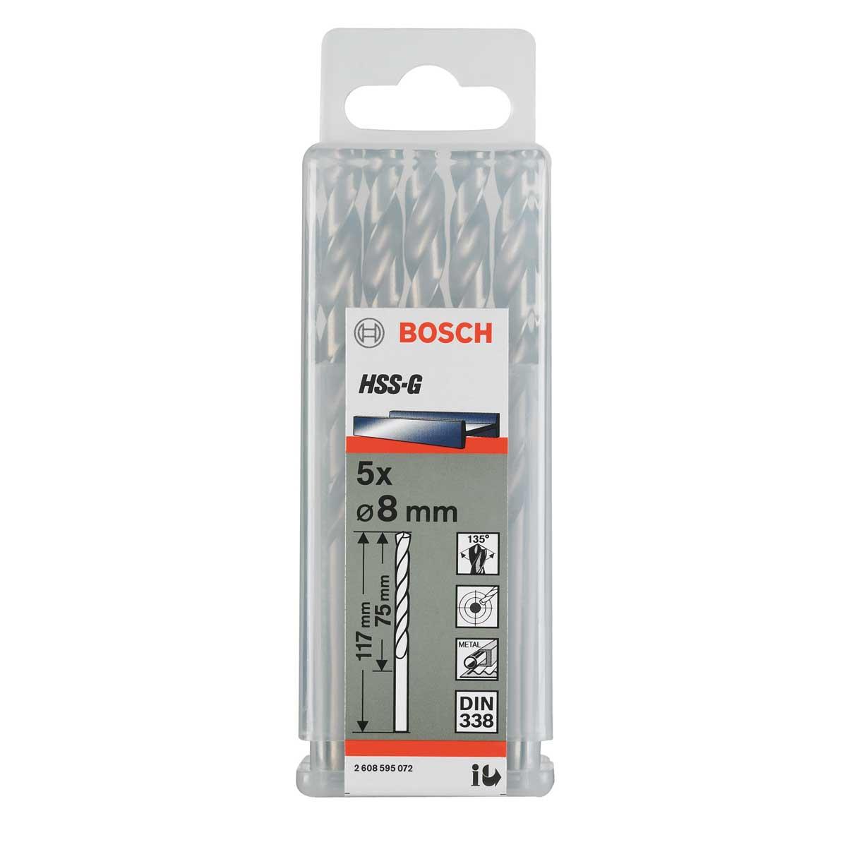 Mũi Khoan Kim Loại HSS-G Bosch 2608595081